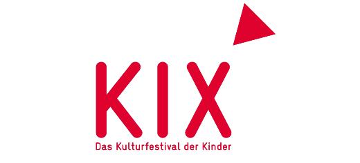 KIX Logo - die Buchstaben K I X mit Dreieck am rechten oberen Rand