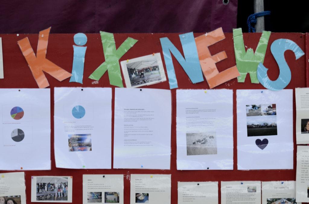Die Wandzeitung von KIX